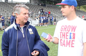 First Look: Coach Kevin Corrigan on Notre Dame lacrosse fall ball, team bonding and more!