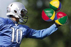 Corey Fuller juggling lacrosse balls Detroit lions