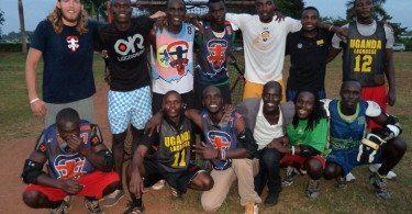 David Steves Uganda lacrosse