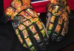 Cruz World Customs Solar Flare Galaxy gloves