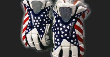 CruzWorldCustoms customized lacrosse gloves