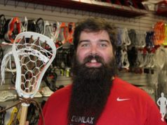 ComLax Traditional Thursday Warrior Scorpion strung by Mike Sullivan