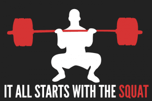 It all starts with the Squat - Squatting exercises