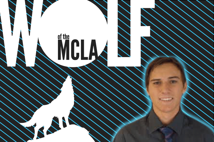 Alex Kowalski Cal State Fullerton Midfield Wolf of the MCLA
