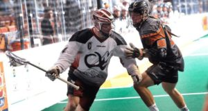 John Grant Jr. Colorado Mammoth NLL vs New England Black Wolves Photo Credit Khoi Ton