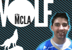 Trey Scott UCLA lacrosse Wolf of the MCLA