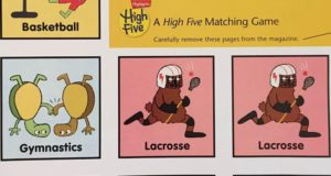 lacrosse spotted in highlights magazine