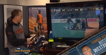 spotted dan patrick box lacrosse fight