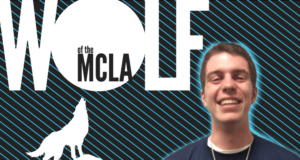 Gaelen Murray Gonzaga Lacrosse Wolf of the MCLA