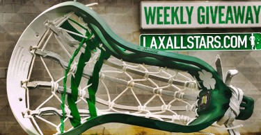 Shamrock Dyed Hawk Lacrosse Head