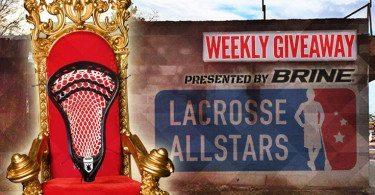 King Lacrosse head from Brine Giveaway on LaxAllStars.com