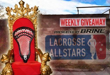 King Lacrosse head from Brine Giveaway on LaxAllStars.com