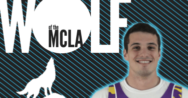 Wolf of the MCLA, Josh Henderson, LSU