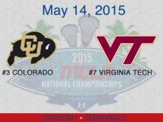2015 MCLA Final Four: Colorado vs Virginia Tech
