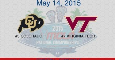 2015 MCLA Final Four: Colorado vs Virginia Tech