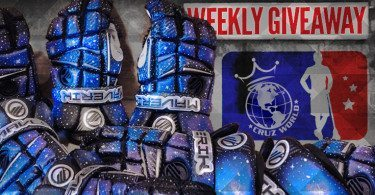 Maverik M3 Galaxy gloves by Cruz World Customs