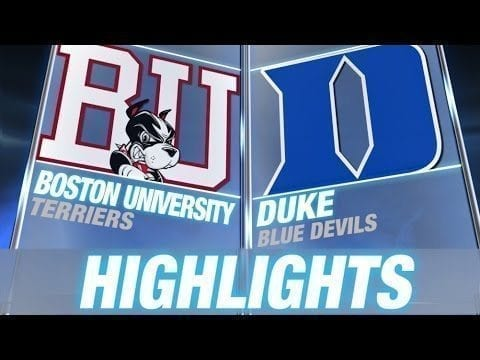 Boston University vs Duke | 2015 ACC Men's Lacrosse Highlights