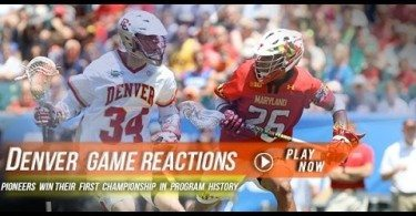 Denver Crowned National Champions | 2015 Lax.com College Highlights