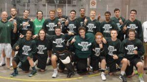 Vermont Jr. Voyageurs box lacrosse team