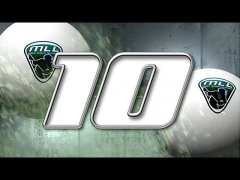 Major League Lacrosse: Top 10 Plays of Week 4