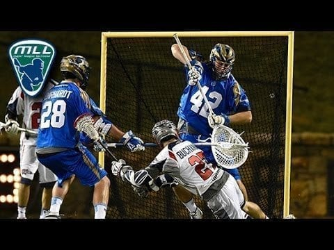 MLL Week 7 Highlights: Boston Cannons at Charlotte Hounds