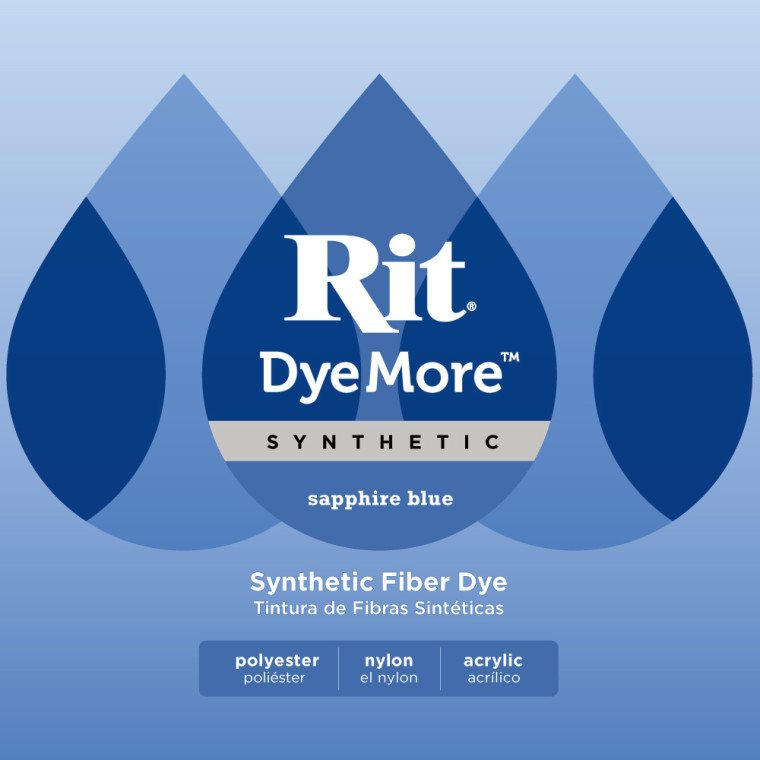 Rit DyeMore - Sapphire Blue