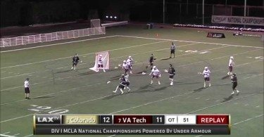 The Greatest Goal in MCLA History: Buffs BTB OT Final Four Game Winner