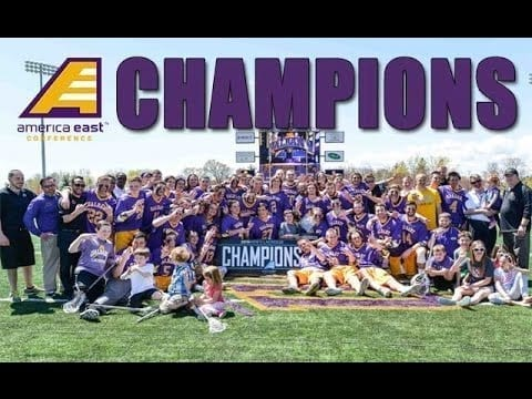 UAlbany Men's Lacrosse Wins 3rd Straight America East Championship