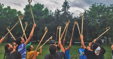 Great Lakes Lacrosse native American wooden sticks