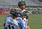Joey Sankey Brian-Spallina New York Lizards vs Charlotte Hounds Photo Credit: Jeff Melnik Charlotte Hounds End New York Lizards Streak, 13-12