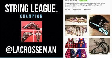 2015 String League Champion Chris Wilson