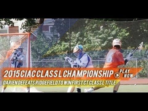 CT: Ridgefield vs Darien - 2015 CIAC Class L Championship