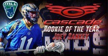 2015 Cascade Rookie of the Year: Joey Sankey