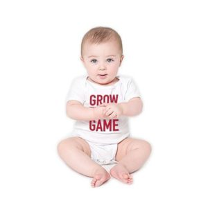 Grow The Game Baby Onesie