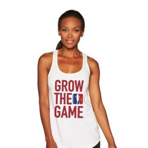 Grow The Game Women's Racerback Tank