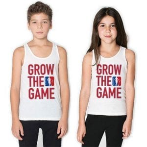 Original Grow The Game Youth Tanks