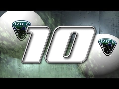 Major League Lacrosse: Top 10 Plays of Week 11