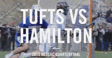 Tufts Lacrosse vs Hamilton – NESCAC Quarterfinal [ 2015 Highlights ]
