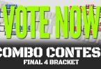 Vote Now Stick Trick Saturday Combo Contest FInal Four.