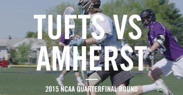 Tufts Lacrosse vs Amherst – NCAA Quarterfinal [ 2015 Highlights ]