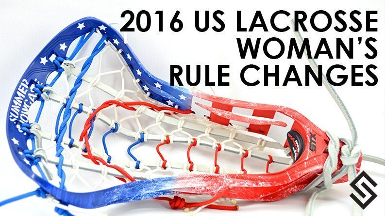 2016 US Lacrosse WOmen's Rules
