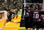 Vancouver Stealth vs New England Black Wolves NLL