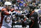 Toronto Rock Vancouver Stealth NLL 2016 Photo: Graig Abel