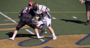 CAL vs Chapman 2016 Lacrosse Highlights