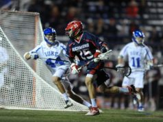 Richmond upsets Duke men's lacrosse 12-10