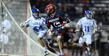 Richmond upsets Duke men's lacrosse 12-10