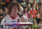 Mark Steenhuis gets kids excited about lacrosse