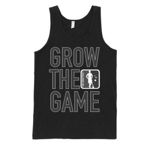 Grow The Game Darth Tank - BLACK