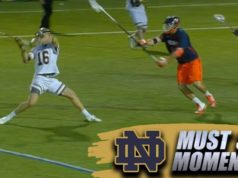 Notre Dame Lacrosse Gets OT Game-Winner vs. UVA