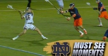 Notre Dame Lacrosse Gets OT Game-Winner vs. UVA